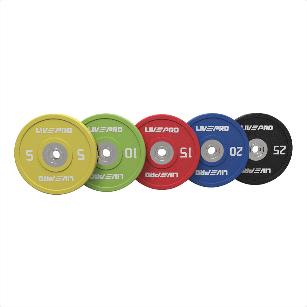 URETHANE COMPETITION COLORED BUMPER PLATE