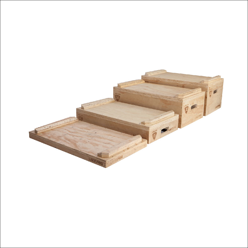WOODEN JERK BLOCK SET